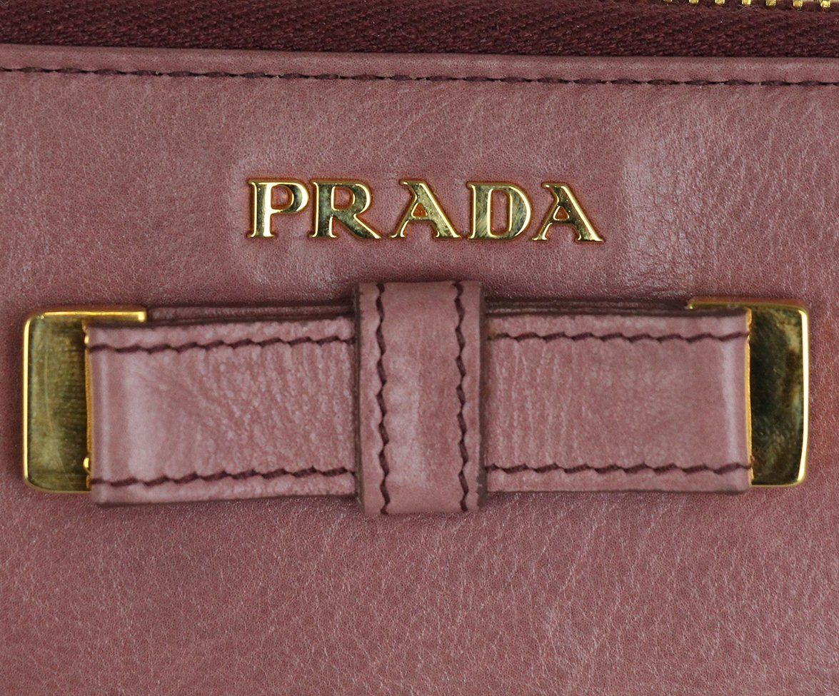 Prada Pink Mauve Leather 8