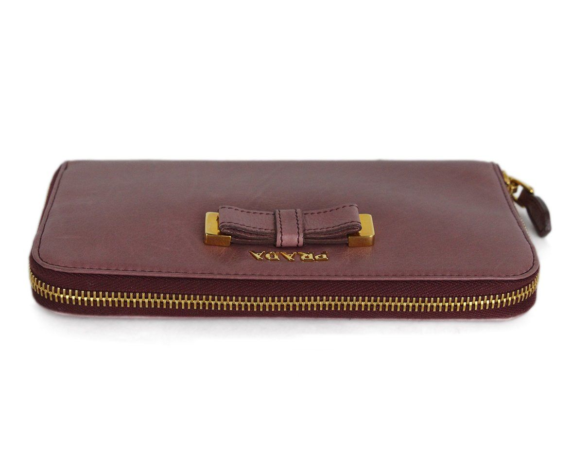 Prada Pink Mauve Leather 5