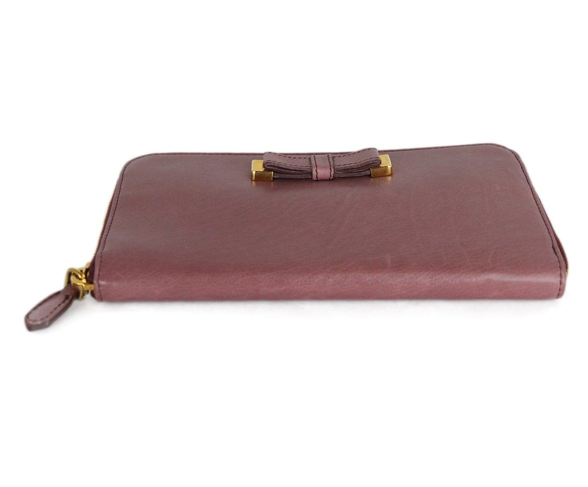 Prada Pink Mauve Leather 4