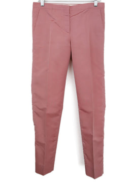 Prada Pink Silk Pants 1