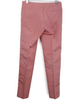 Prada Pink Silk Pants 2