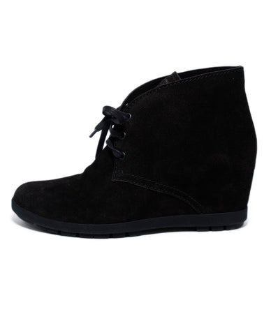 Prada Sport Brown Suede Booties 1