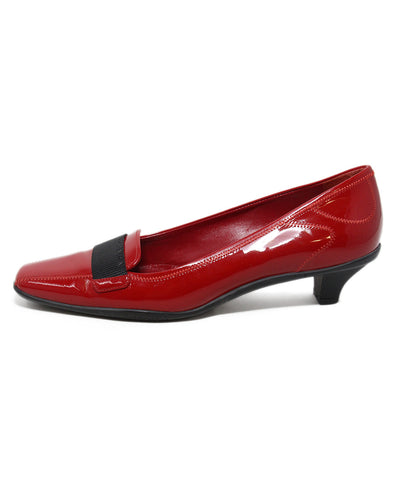 Prada Sport red patent leather shoes 1
