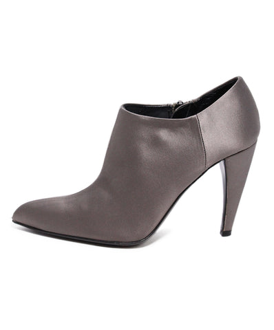 Prada Taupe Satin Booties 1