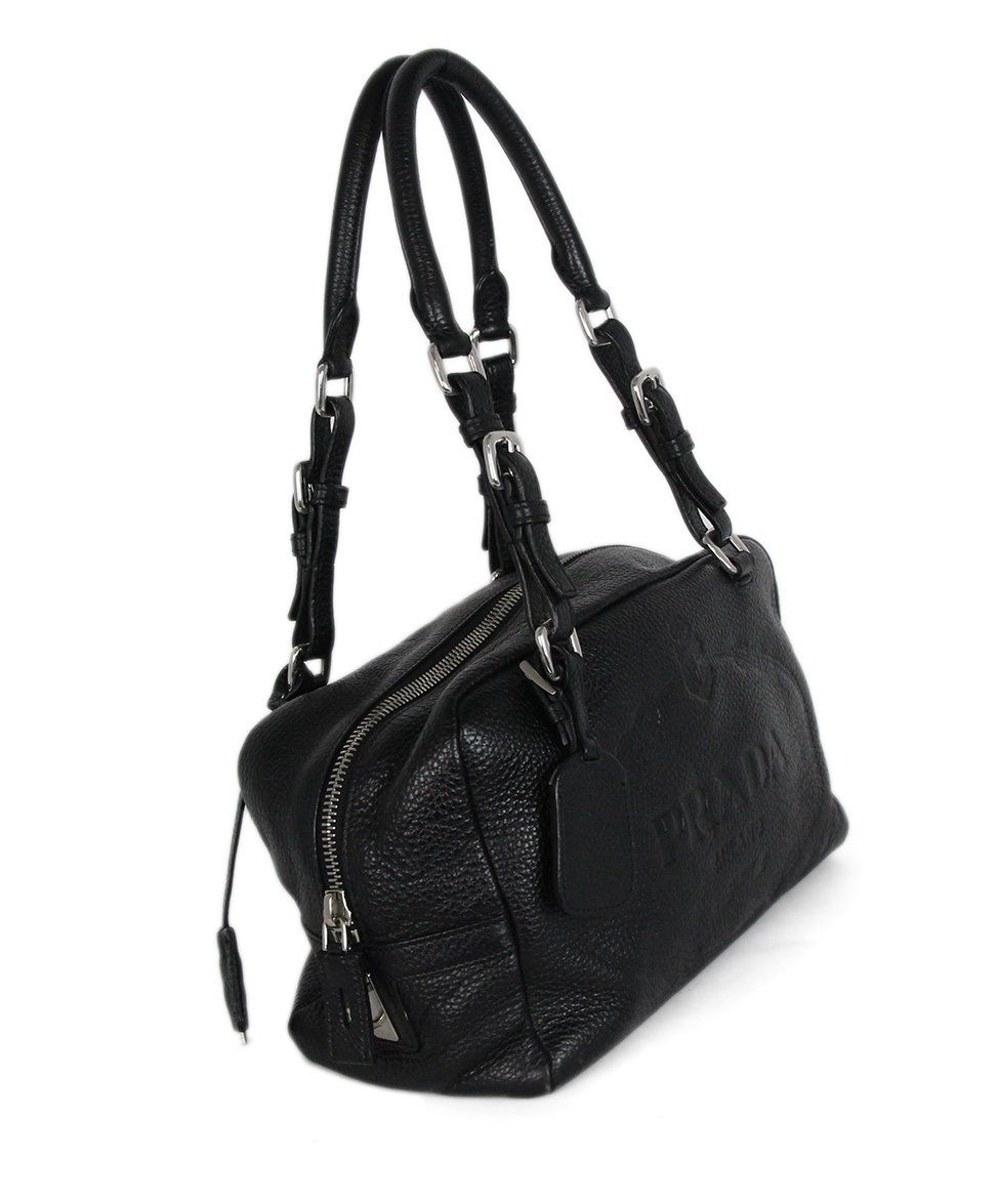 Prada black Leather bag 2