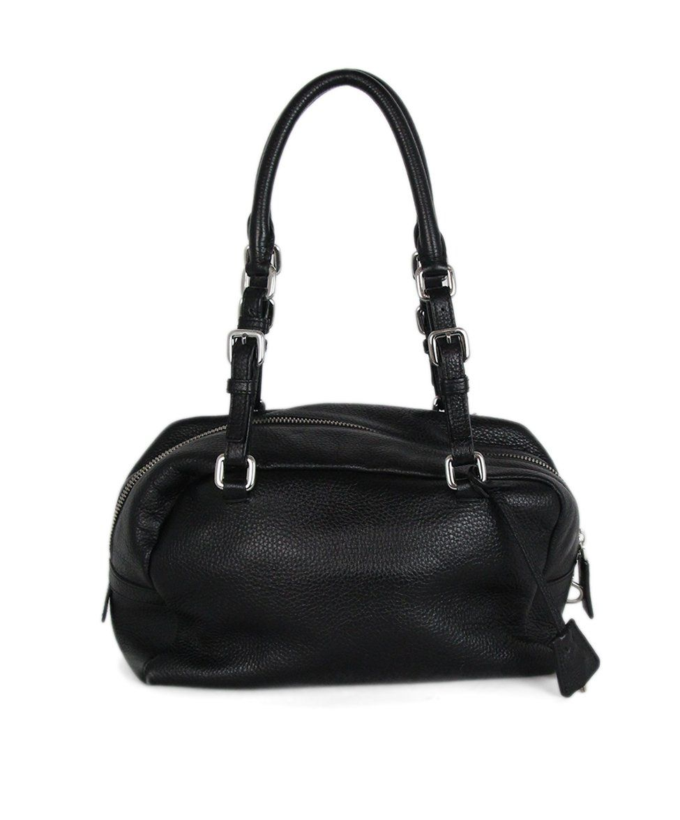 Prada black Leather bag 3