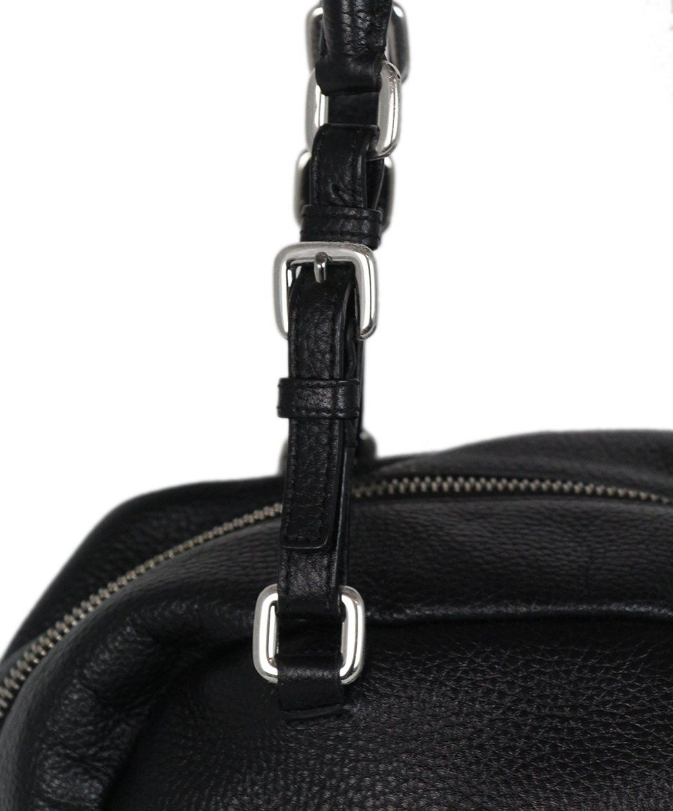 Prada black Leather bag 8