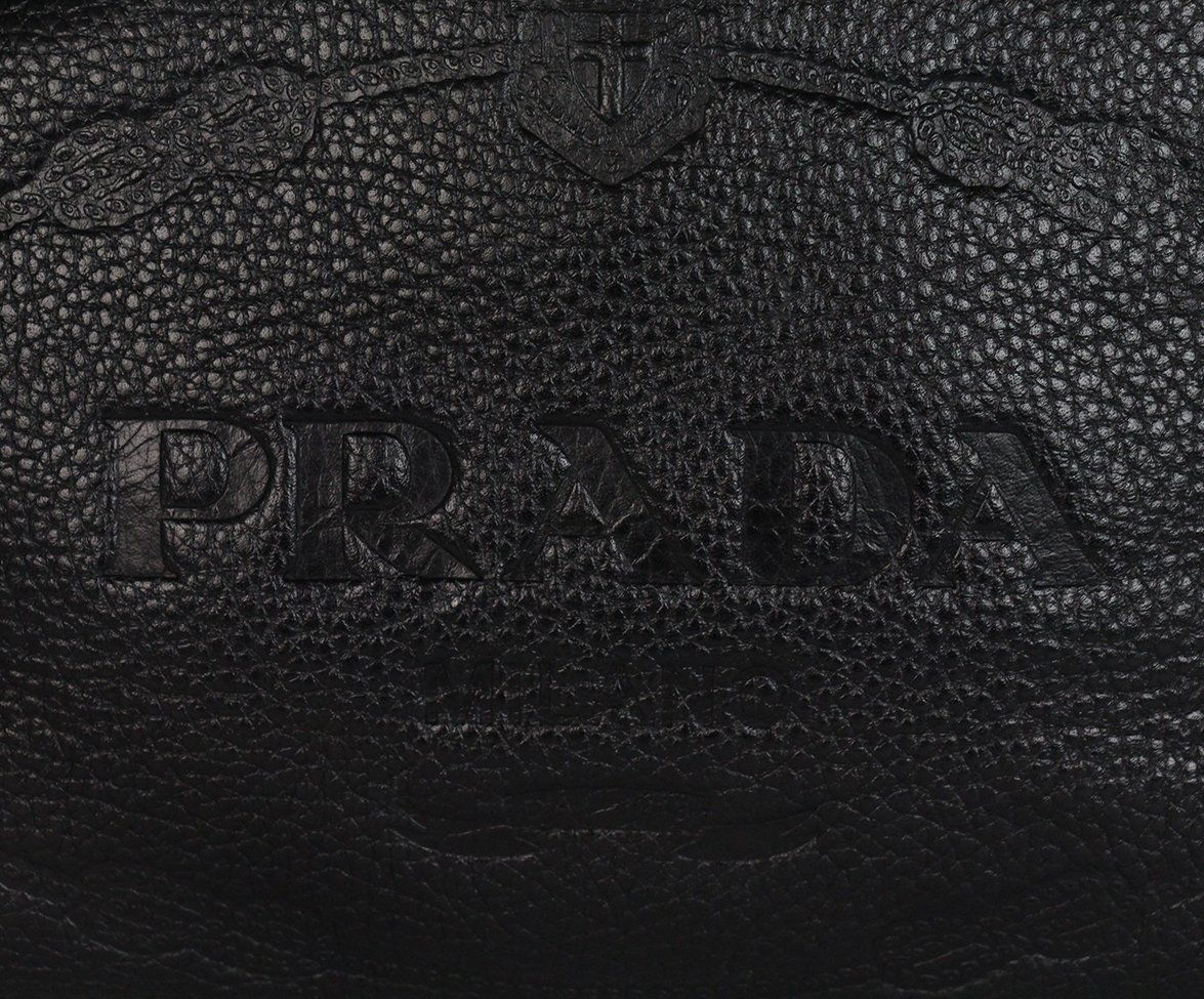 Prada black Leather bag 9