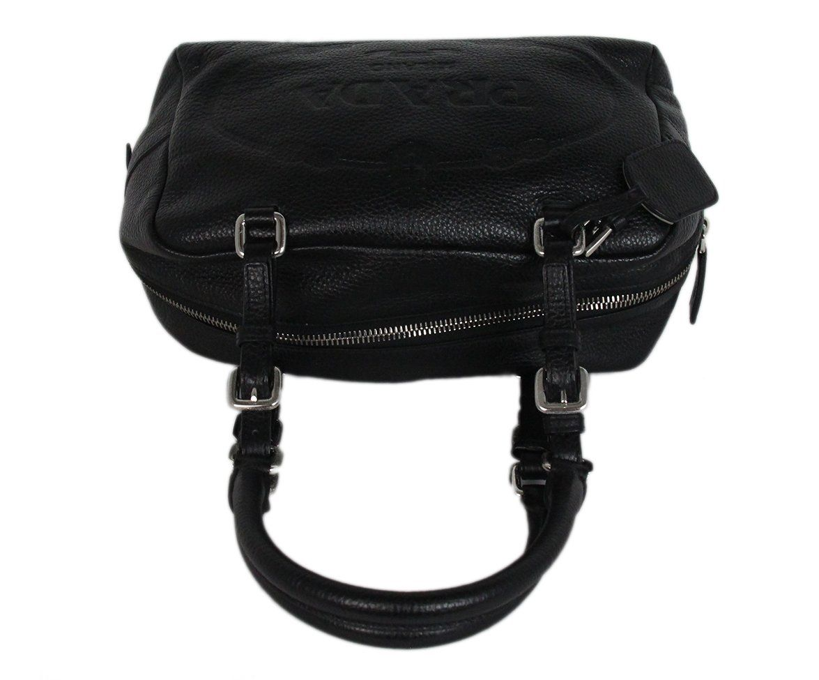 Prada black Leather bag 5