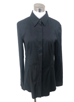 Prada Black Blouse sz 4