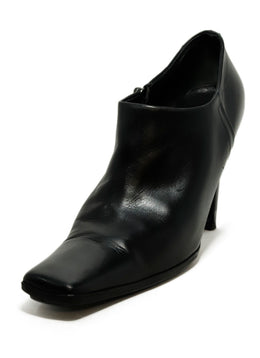 Prada Black Leather Booties 1