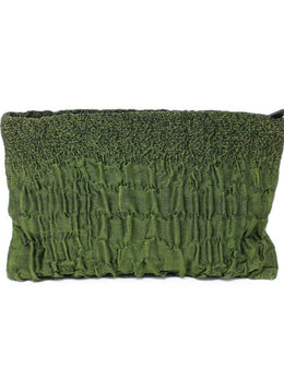 Prada Green Cloquet Clutch 1