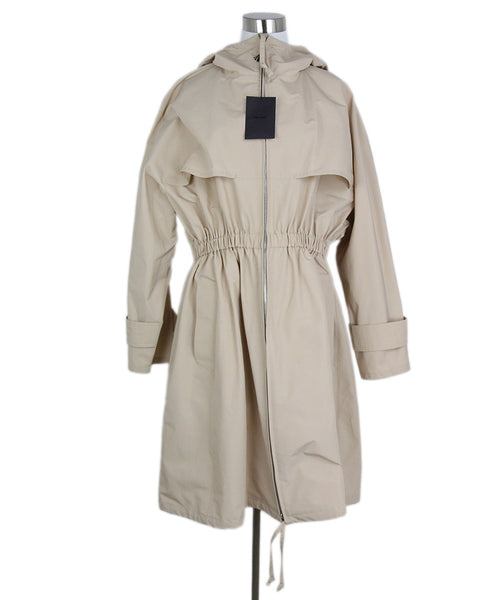 Prada Tan Cotton Trenchcoat 1