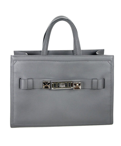 Proenza Schouler Grey Leather Handbag