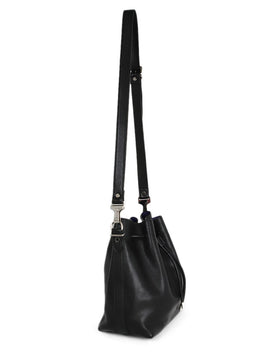 Proenza Schouler Black Leather Bucket Handbag 2