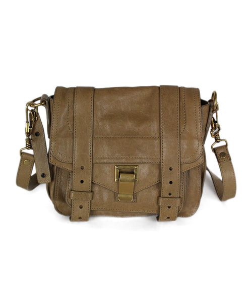 Proenza Schouler Neutral Tan Leather Crossbody 1