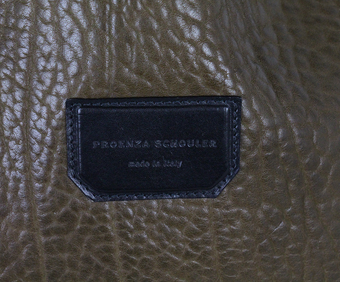 Proenza Schouler Olive black Leather crossbody 6