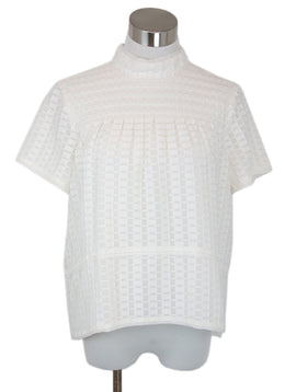 Proenza Schouler White Cotton Silk Blouse 1