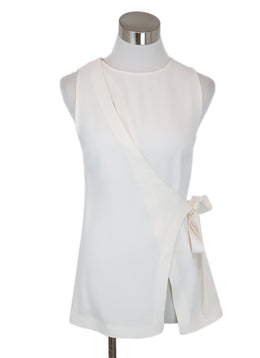 Proenza Schouler White Ivory Acetate Viscose Top 1