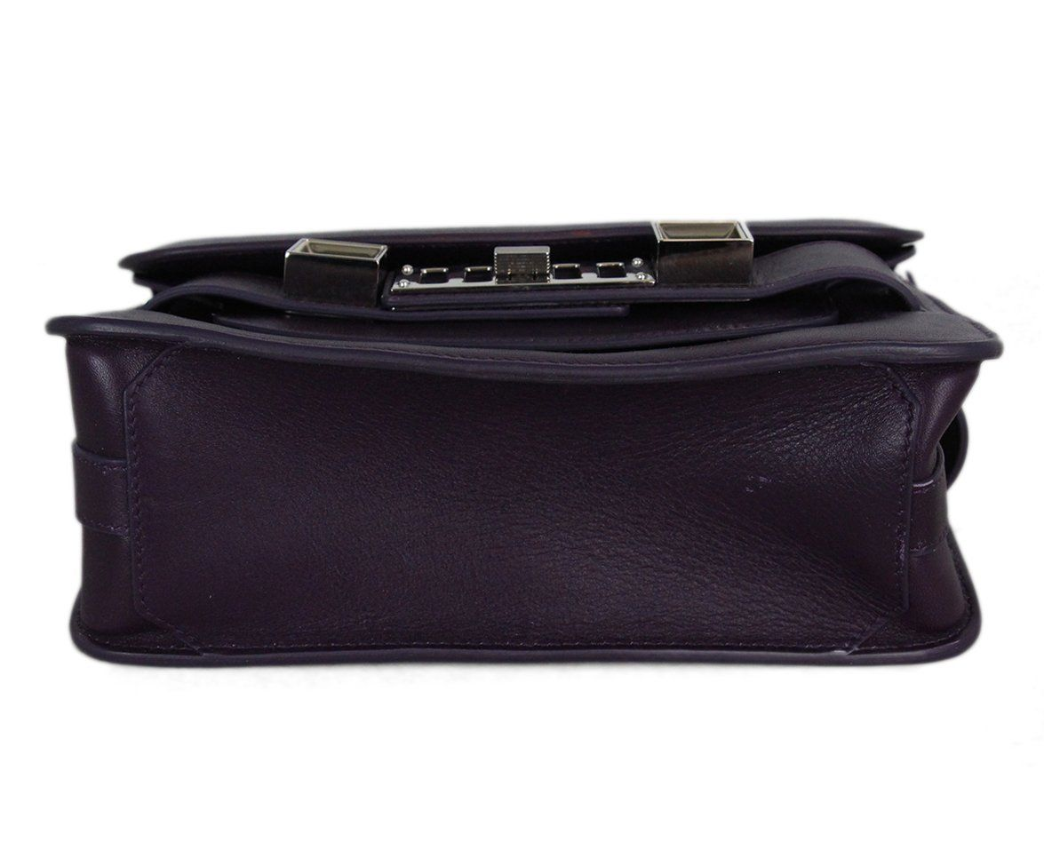 Proenza Schouler purple leather PS11 Mini Classic bag 4