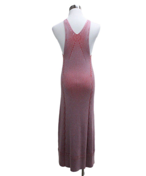 Proenza Schouler Pink Red Knit Dress 2