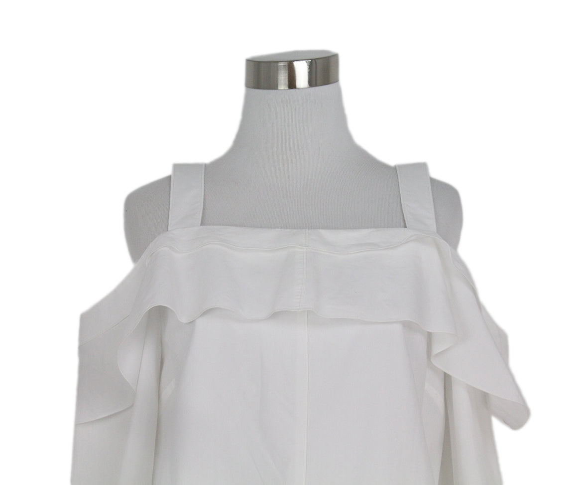 Proenza Schouler white cotton dress 6