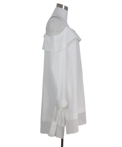 Proenza Schouler white cotton dress 1