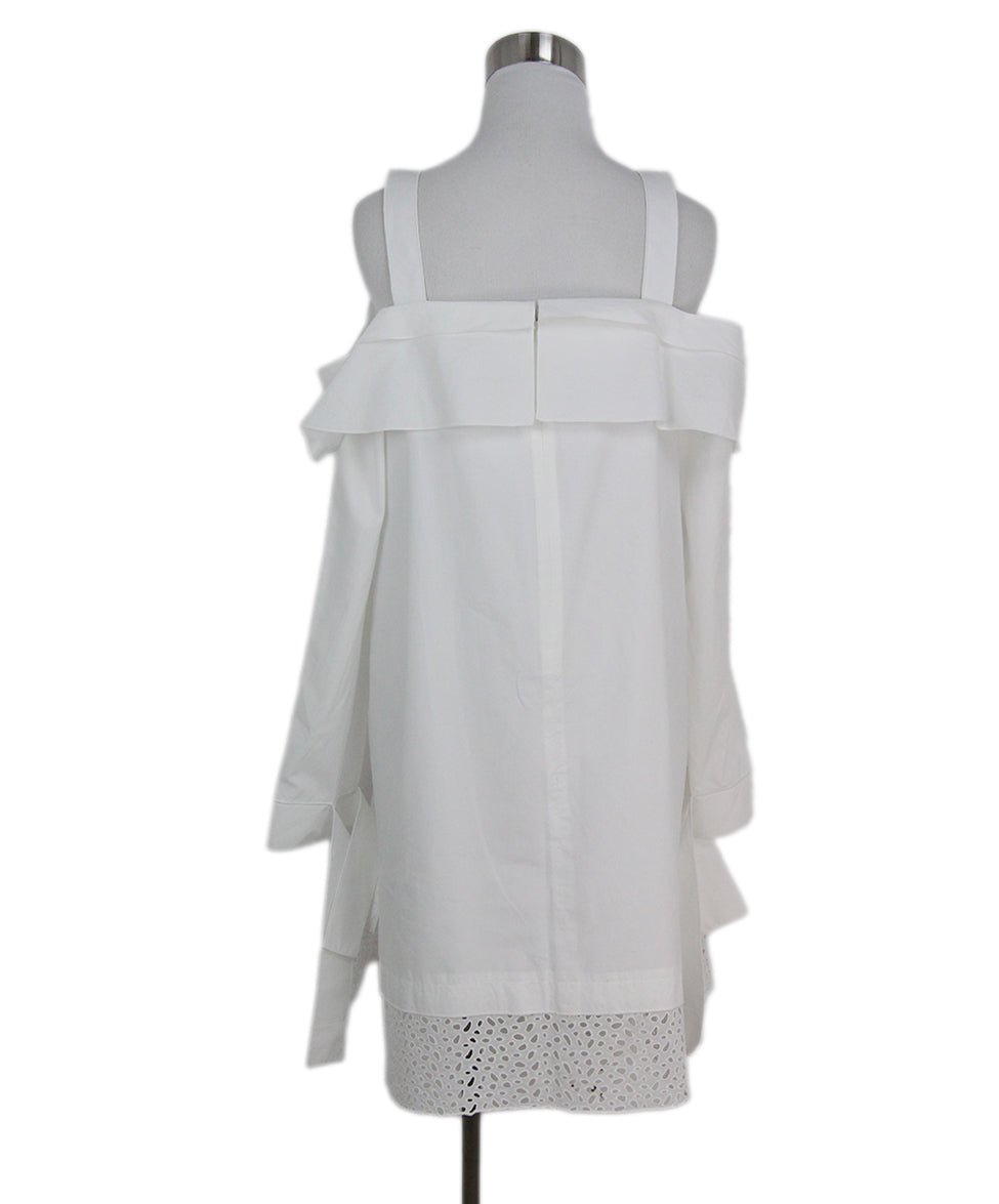 Proenza Schouler white cotton dress 3