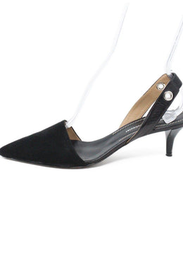 Proenza Schouler Black Suede Shoes 2
