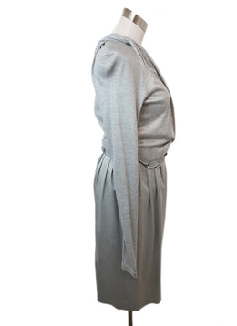 Rachel Roy Grey Viscose Wool Longsleeve Dress 2