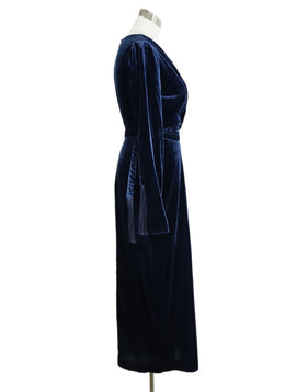 Rachel Zoe Blue Navy Velvet Dress 2