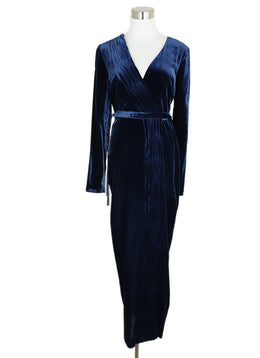 Rachel Zoe Blue Navy Velvet Dress 1