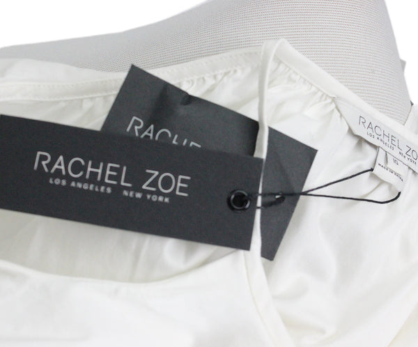 Rachel Zoe White Cotton Top 4
