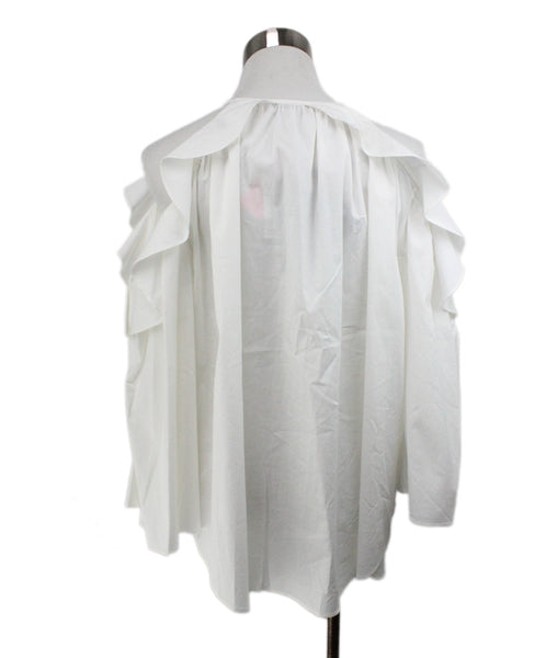 Rachel Zoe White Cotton Top 3