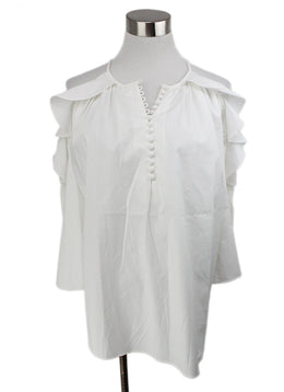 Rachel Zoe White Cotton Top 1