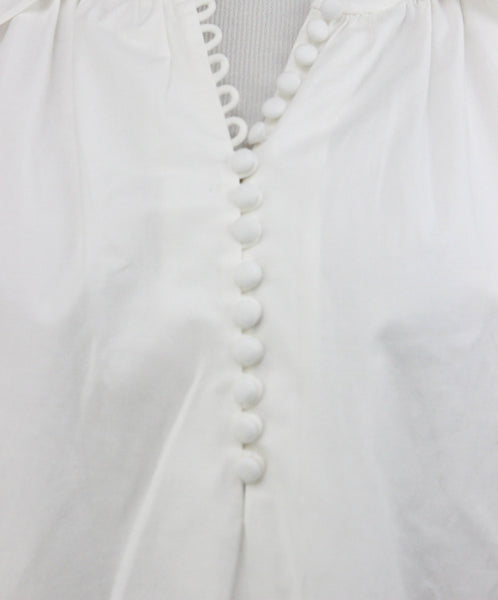 Rachel Zoe White Cotton Top 5