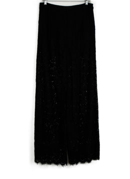 Rachel Zoe Black Lace Pants 1