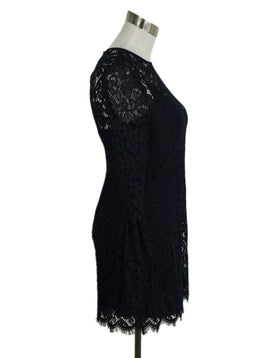 Rachel Zoe Navy Blue Lace Dress 2
