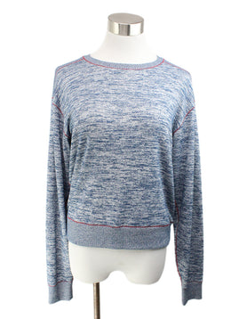 Rag & Bone Blue Rayon Polyester Sweater 1