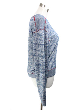 Rag & Bone Blue Rayon Polyester Sweater 2