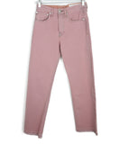 Rag & Bone Pastel Pink Denim Pants 1