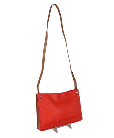 Rag & Bone Red Tan Leather Crossbody 1