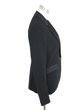 Rag & Bone Black Wool Silk Jacket 2