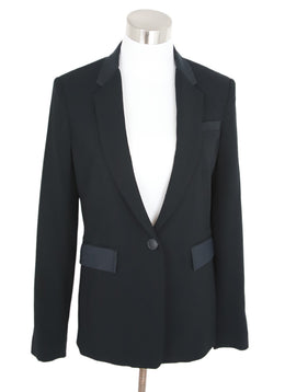 Rag & Bone Black Wool Silk Jacket 1