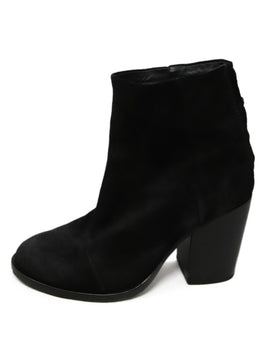Rag & Bone Black Suede Booties 2