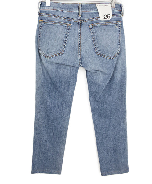 Rag & Bone Blue Denim Pants 2