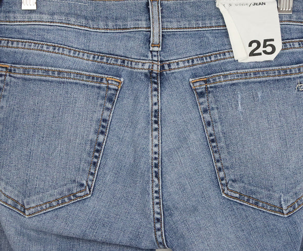 Rag & Bone Blue Denim Pants 4