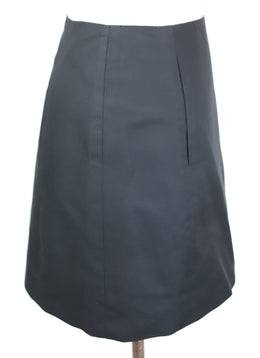 Ralph Lauren Black Cotton Silk Skirt 2