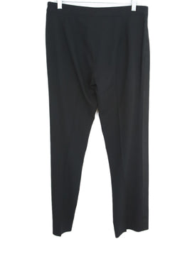 Ralph Lauren Black Wool Satin Pants 2