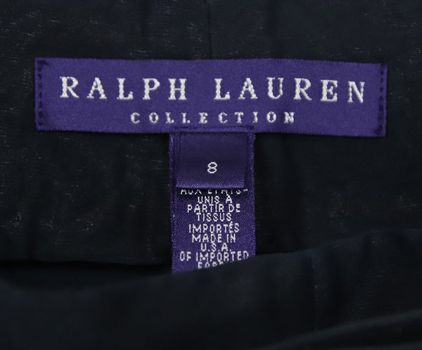 Ralph Lauren Blue Navy Linen Pants with belt 3